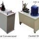 Tipos de centrales: Convencionales y DRY