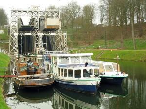 Ascensor de barcos de Strepy-Bracquegnies