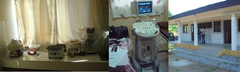 Adquisición de material de laboratorio y un ecógrafo - Dispensario de Abidjan (Costa de Marfil, África)