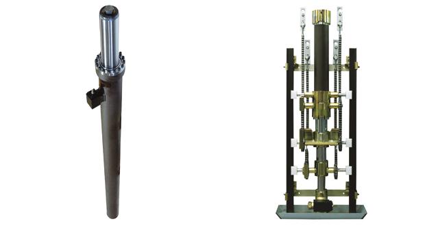 pistones hidraulicos ascensores gmv