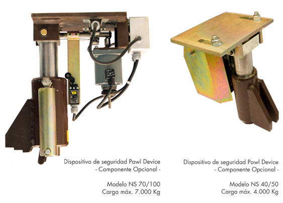 Dispositivo de seguridad PAWL DEVICE