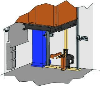 Foso ascensor hidraulico