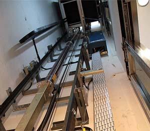 hueco ascensor hidráulico