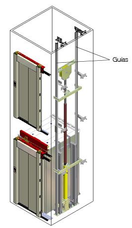 Gu as de un elevador hidr ulico for Materiales para hacer un ascensor