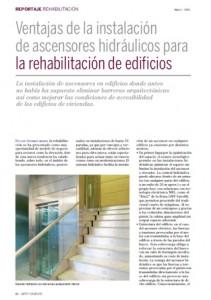 """Reportaje publicado en la revista """"Arte y Cemento"""""""