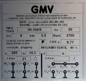 etiqueta motor
